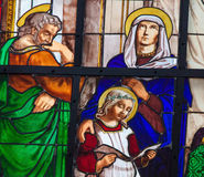 Joseph, Mary and Jesus Royalty Free Stock Photos