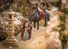 Joseph och mary Arkivbild