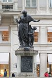 Joseph`s Fountain on Graben Street,Vienna,Austria stock image