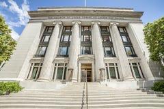 Joseph Smith Memorial Building, Salt Lake City. Utah royalty free stock photos