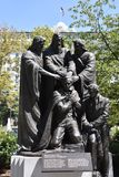 Joseph Smith Priesthood Statue in Salt Lake City, Utah. USA stock images