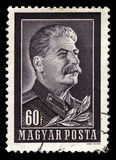 Joseph Stalin Vintage Postage Stamp Stock Photography