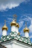 Joseph-Volokolamsk μοναστήρι, τεμάχιο του καθεδρικού ναού υπόθεσης, Στοκ Εικόνες