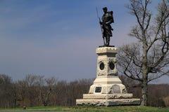 Joseph W Hawley zabytek przy Antietam obywatela polem bitwy Obrazy Stock