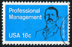 Joseph Wharton. UNITED STATES - CIRCA 1981: stamp printed by United states, shows Joseph Wharton, circa 1981 royalty free stock image
