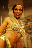 Josephine Baker Wax Figure Royalty Free Stock Photos