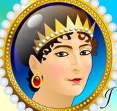 Josephine de Beauharnais Ilustração Royalty Free
