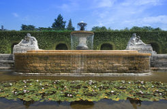 The Josephine Fountain in the Rose Garden Royalty Free Stock Photography