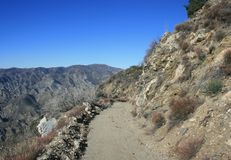 Josephine Peak Road Stock Photo