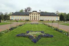 Josephine slott i Strasbourg Royaltyfri Fotografi