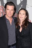Josh Brolin,Diane Lane Stock Photography