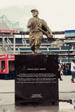 Josh Gibson Statue at Nationals Park. Bronze statue pays tribute to Josh Gibson, baseball legend Royalty Free Stock Image