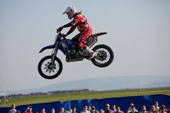 Josh Grindrod, freestyle motocross rider Royalty Free Stock Photo