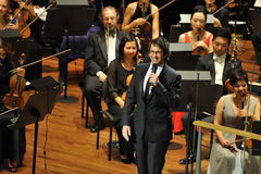 Josh Groban at Avery Fisher Hall Royalty Free Stock Images