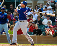 Josh Hamilton Texas Rangers Royalty Free Stock Photography