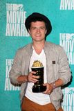 Josh Hutcherson at the 2012 MTV Movie Awards Press Room, Gibson Amphitheater, Universal City, CA 06-03-12 Royalty Free Stock Photos