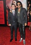 Josh Hutcherson & Lenny Kravitz Royalty Free Stock Photos