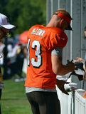 Josh McCown Signing Autographs for Fans Royalty Free Stock Photos