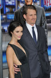 Josh Pence & Abigail Spencer Stock Photo