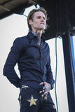 Josh Todd of Buckcherry. Rock band singer and guitarist Josh Todd of Buckcherry Royalty Free Stock Image