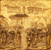 Joshua, bramy raj, baptysterium Florencja katedra Fotografia Royalty Free