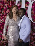 Joshua Henry at 2018 Tony Awards. Previous Tony winner and star of Broadway musicals, Joshua Henry arrives on the red carpet for the 72nd Annual Tony Awards held Royalty Free Stock Image