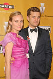 Joshua Jackson,Diane Kruger. Diane Kruger and Joshua Jackson  at The Weinstein Company 2010 Golden Globes After Party, Beverly Hilton Hotel, Beverly Hills, CA Stock Photography