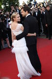Joshua Jakson and Diane Kruger Royalty Free Stock Images