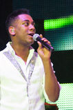 Joshua Ledet. Sacramento, CA - July 21: Joshua Ledet with American Idol performs in American Idol Live Tour 2012 at Power Balance Pavilion in Sacramento Stock Images