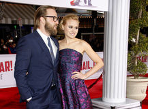 Joshua Leonard and Alison Pill Stock Image