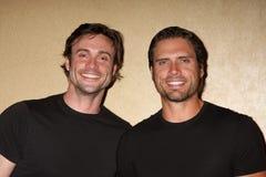 Joshua Morrow,Daniel Goddard Stock Photos