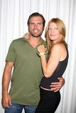 Joshua Morrow,Michelle Stafford Royalty Free Stock Image