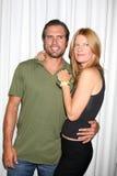 Joshua Morrow, Michelle Stafford royalty-vrije stock afbeelding