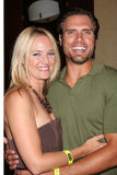 Joshua Morrow, Sharon Case Stock Photography