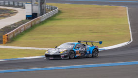 Joshua polowanie ogniwo nieskończoność w azjata Le Mans seriach - rasa przy Zdjęcie Stock