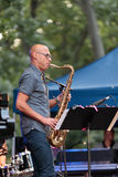 Joshua Redman at the Charlie Parker Jazz Festival in Manhattan, 2017 Stock Photography