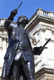 Joshua Reynolds Statue at Burlington House Stock Photography
