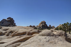 Joshua Tree Hidden Valley Rocks and Boulders Stock Photography