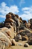 Joshua Tree National Park, Jumbo Rocks Royalty Free Stock Images