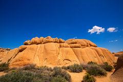 Joshua Tree National Park Jumbo Rocks Yucca valley Desert Califo Stock Photos