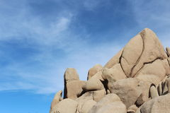Joshua Tree National Park Landscape Stock Image