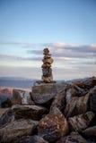 Joshua Tree national Park. Ryan Mountain Zen Royalty Free Stock Image