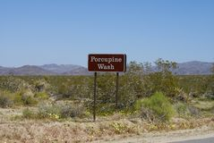 Joshua Tree National Park - Trail Stock Photography