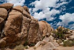Joshua Tree Rock Formation Stock Photo