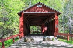 Josiah Hess Covered Bridge Historic Pennsylvania Stock Photo
