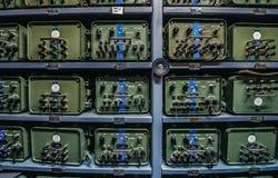 Josip Tito's bunker. Konjic, Bosnia and Herzegovina - August 25, 2015. radio communication center in ARK (Atomska Ratna Komanda) Nuclear Command Bunker built royalty free stock photography