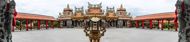 Joss house. The chinese joss house, The oriental civilization Royalty Free Stock Photo
