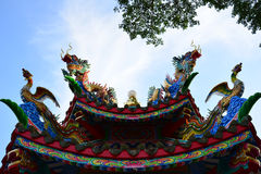 Joss house roof Stock Photography