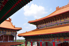 Joss house roof Stock Photo