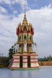 Joss house. Spirit house in temple thailand Royalty Free Stock Photo